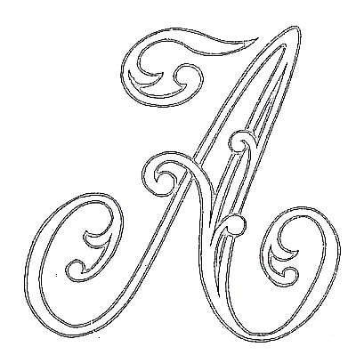 25+ best ideas about Monogram letters on Pinterest