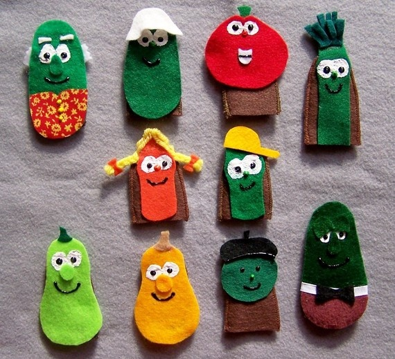 veggie tales ornaments