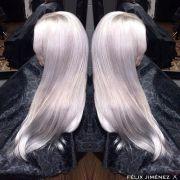 amazing silver white elsa frozen
