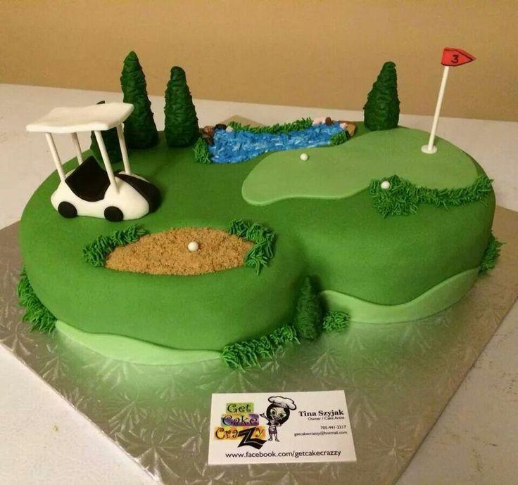 Best 10 Golf grooms cake ideas on Pinterest  Golf