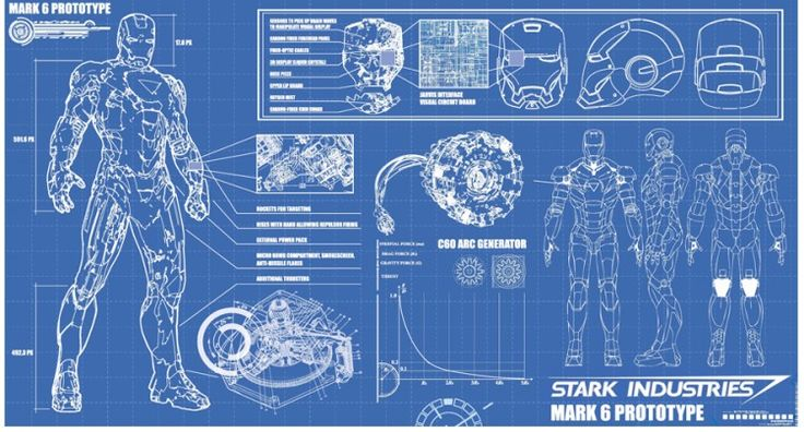 17 Best Images About Robot Blueprints Blue Prints On