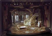 Act II Ideas: A Grand Staircase, four double doors leading ...