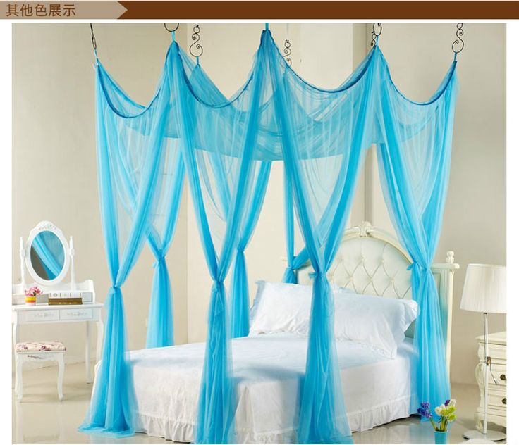 Pink Purple Green Princess Triple BED Canopy Mosquito NET Twin Queen King  eBay  Alysia