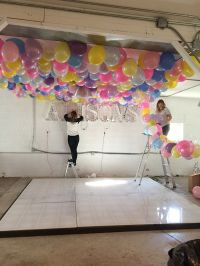 Best 25+ Balloon Ceiling Decorations ideas on Pinterest ...