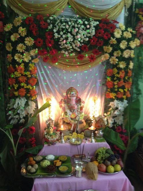 49 Best Images About Pooja Decoration On Pinterest Purple