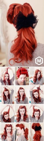 pinup ponytail tutorial