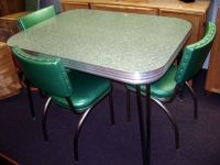 Formica table and chairs (every house had a set!) | 1950's ...