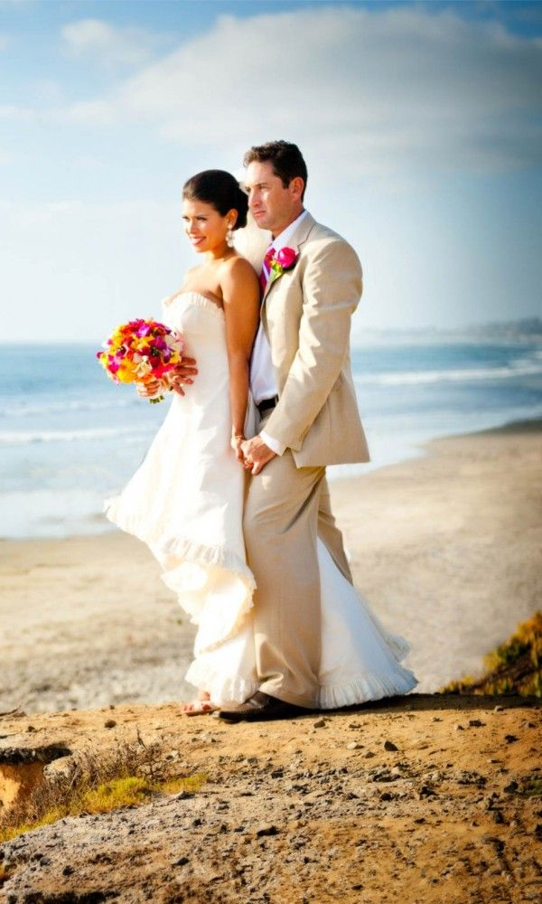 2014 white beach wedding groom wedding attire the beach