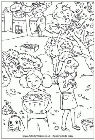 25+ best ideas about Fall coloring pages on Pinterest