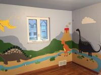 Dinosaur Kids Room | ZoogieArt | Pinterest | Kid, Kids ...