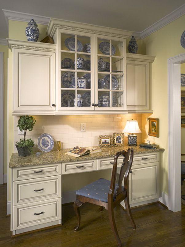 25 best ideas about Kitchen desks on Pinterest  Kitchen office nook Kitchen office and