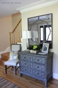 "A Foyer ""Before"" and ""After"" 