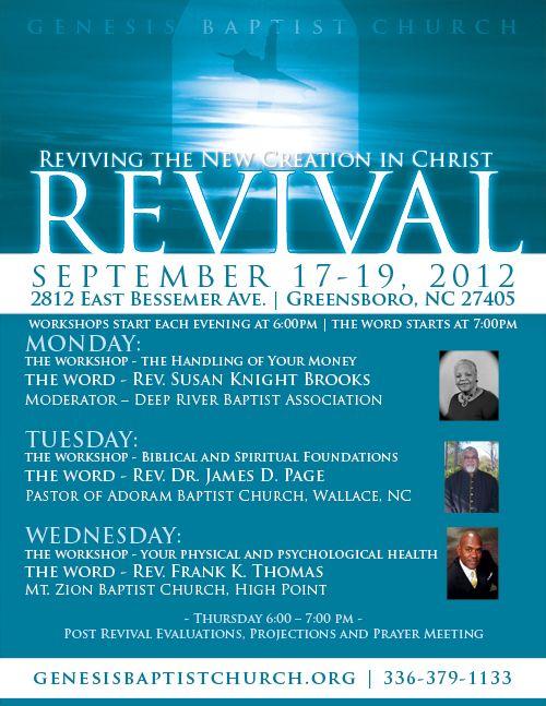 church revival ideas
