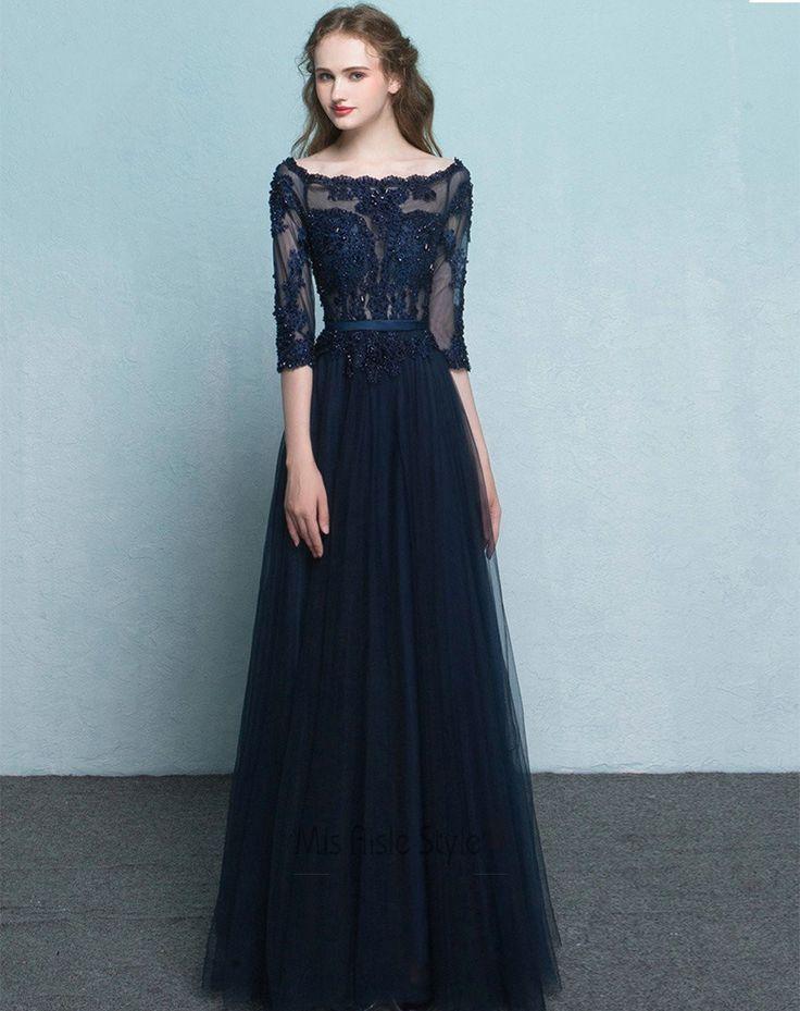 17+ best ideas about Navy Blue Formal Dress on Pinterest