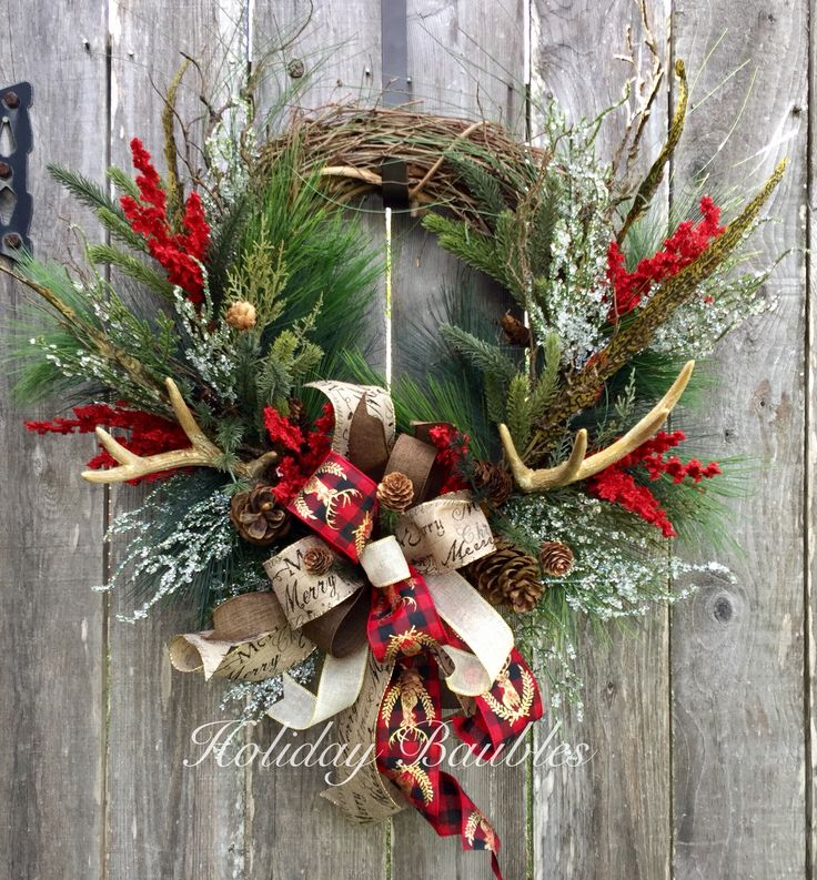 25+ best ideas about Rustic Wreaths on Pinterest