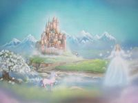 Beautiful fairytale wall mural | Iszabella fairytale ...