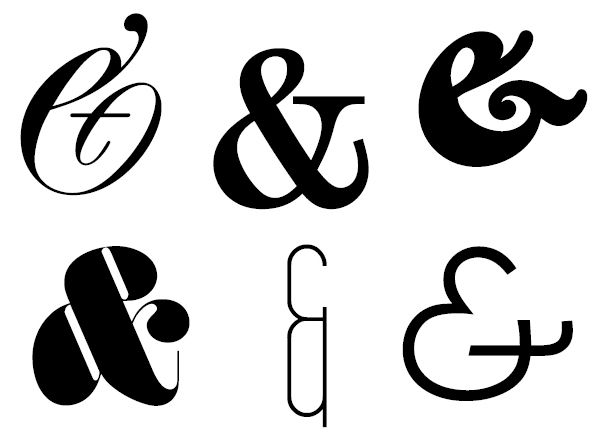 25+ best ideas about Ampersand font on Pinterest