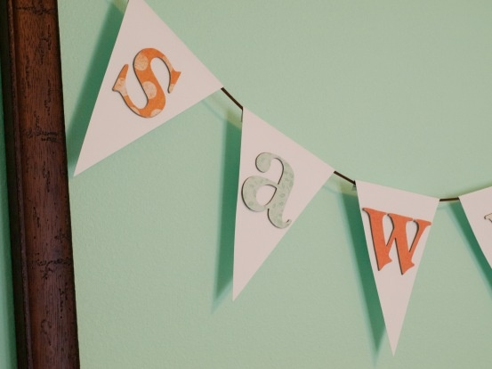 banner letter template