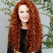 ideas curly red