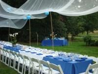 homemade canopy tent | backyard party | Pinterest ...