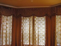 bay window box-pleated valance - Chfindustry Gallery ...