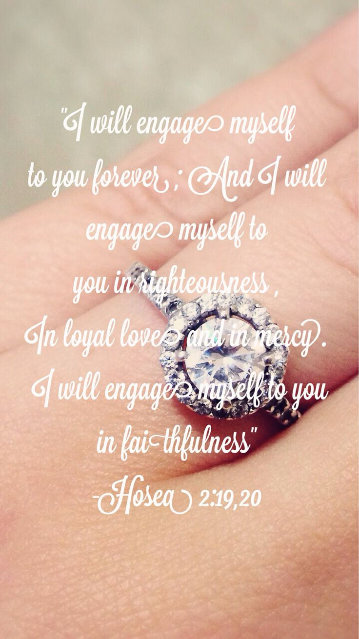 Engaged engagement quote bible  Quotes  Pinterest  Beautiful My father and I love