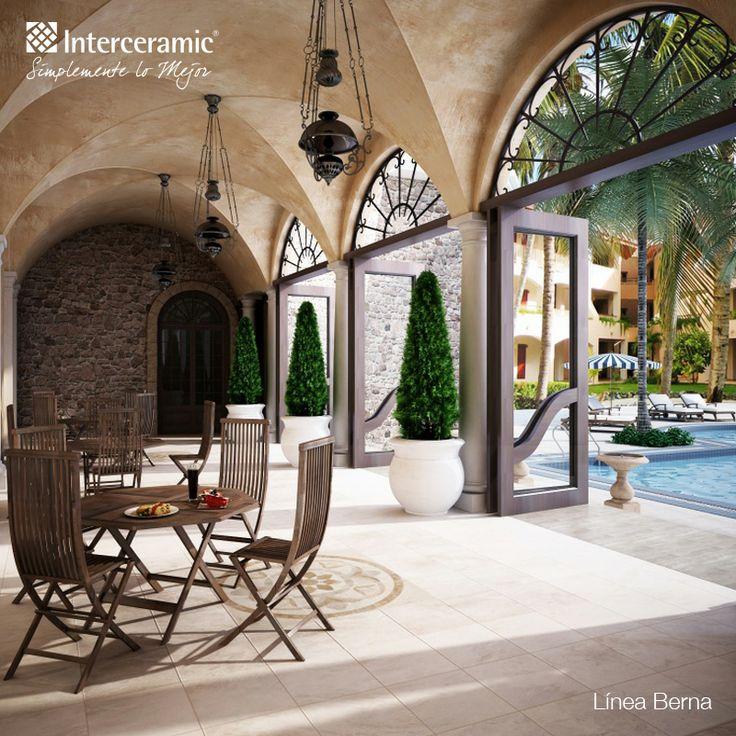 Lo mejor en pisos para terrazas y exteriores en Interceramic  Azulejos para fachadas  Pinterest