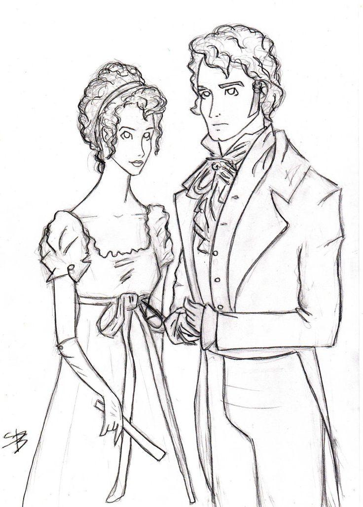 Elizabeth Bennet And Mr Darcy
