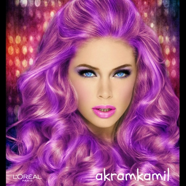 swetty purple created using TAAZ Virtual Makeover Try on Hairstyles Makeup and color your