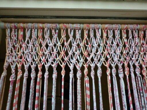 Rideau Anti Mouche En Zpagetti DIY Crochet Pinterest
