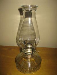 LOVELY vintage Lamplight farms oil lamp- kerosene lamp ...