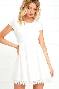Best 25+ White dress casual ideas on Pinterest | Holiday ...