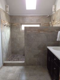 25+ best ideas about Shower no doors on Pinterest