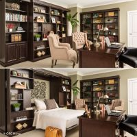 25+ Best Ideas about Murphy Bed Office on Pinterest ...