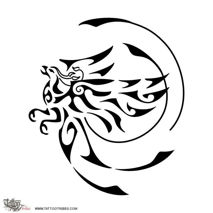 Best 25 Tribal Phoenix Tattoo Ideas