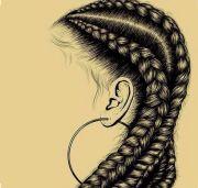 hair black woman braids cornrows