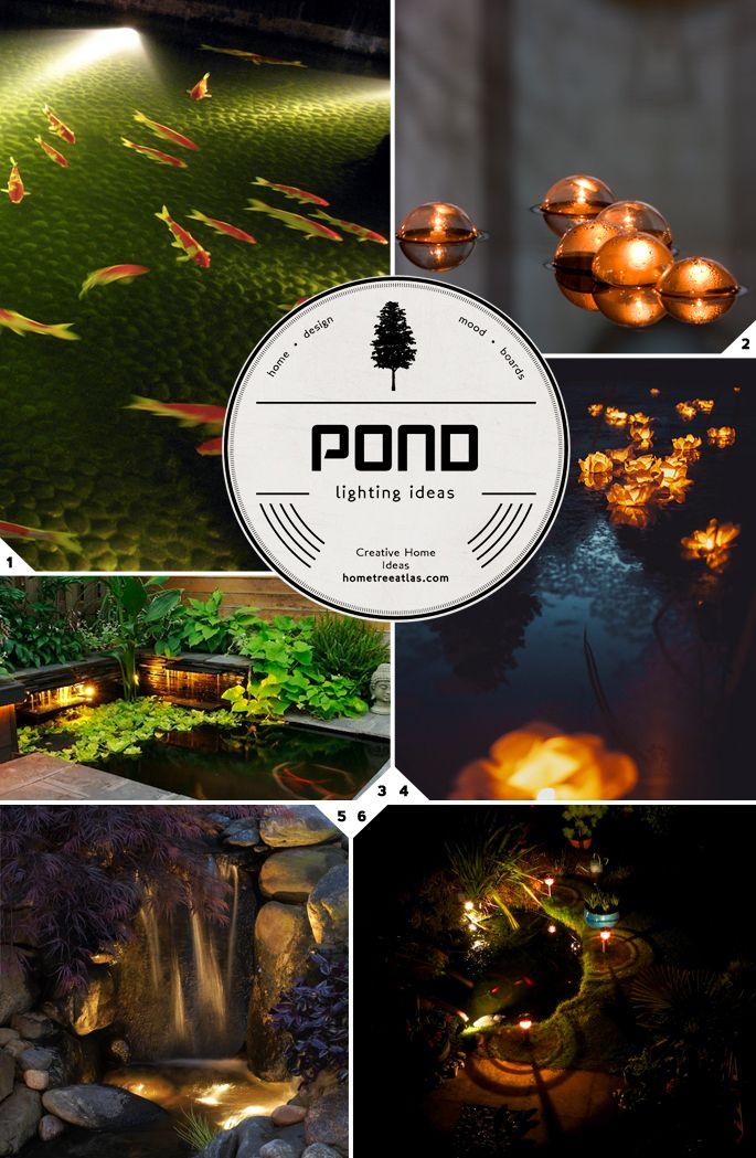25 Best Ideas About Pond Lights On Pinterest Fish Ponds Garden