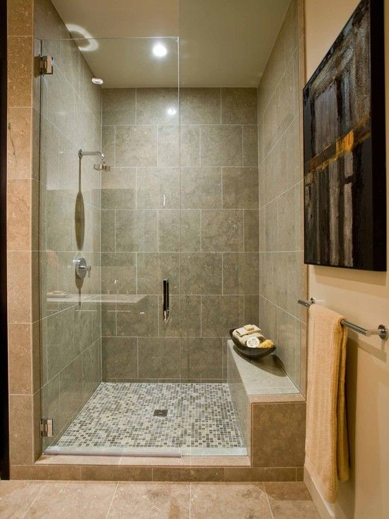 Bathroom Shower Bench Design  basement ideas  Pinterest  Contemporary bathrooms Pictures