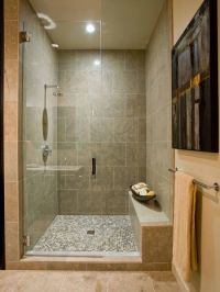 Bathroom Shower Bench Design, | basement ideas | Pinterest ...