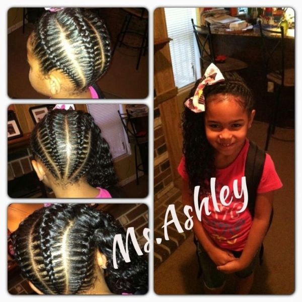 30 Cute For Picture Day Hairstyles For Black Little Girls