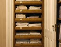 Linen closet pull out shelves | Home | Pinterest | L'wren ...