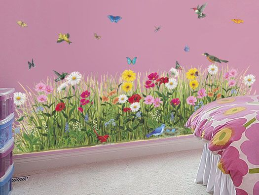 17 Best Ideas About Garden Mural On Pinterest Painted Wall