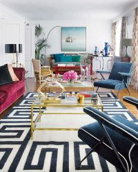 Working With: A Long, Narrow Living Room | Furniture ...