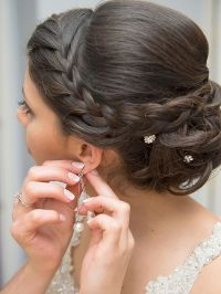 17 Best ideas about Braided Wedding Hair on Pinterest