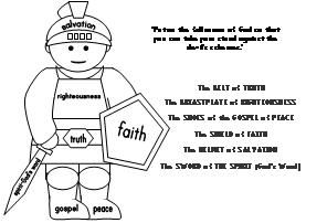 17 Best images about Bible: Armor of God on Pinterest