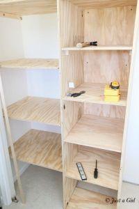 Best 25+ Diy closet shelves ideas on Pinterest   Closet ...