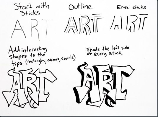 25+ Best Ideas about How To Draw Graffiti on Pinterest
