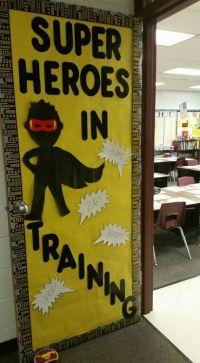 25+ best ideas about Superhero Door on Pinterest ...