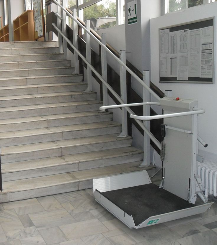 S7 SR Inclined Platform Stair Lift  Straight Staircase