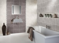 Using a feature wall of tiles in a different colour is a ...